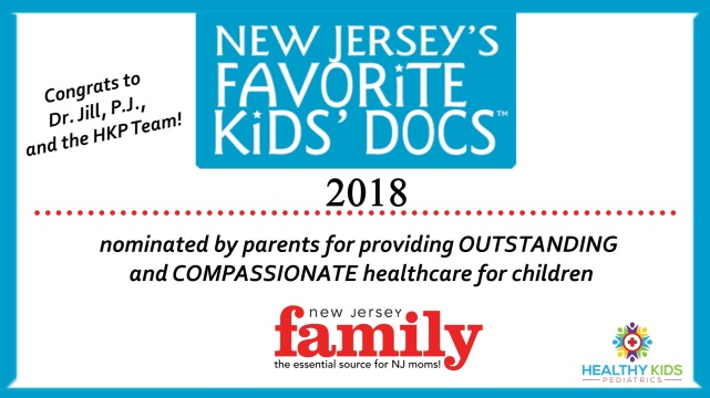 Healthy Kids New Jersey's Favorite Kids' Docs Favorite Kids' Doc 2018, New Jersey Family Magazine, Dr. Jill Garripoli Pedalino, Peter P.J. Pimpinelli, PA-C
